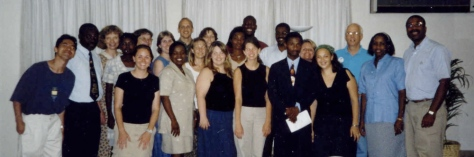 2002 Sponsor Tour with Haitian Leadership Development Students
